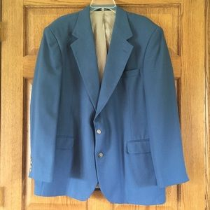 Haggar Light Blue Sport Coat - Two Buttons